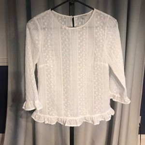 Stunning lace blouse from ModCloth